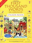 German (Usborne First 1000 Words) (1000 Words Picture Book compare prices)