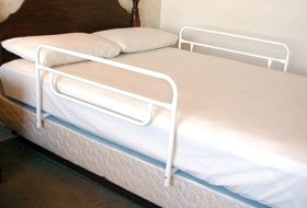 Security Half Bed Rail for Home Beds, 30 inches, One Sided by AliMed