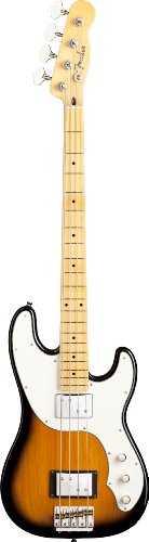 Fender Modern Player Telecaster Electric Bass Guitar, Maple Fingerboard - 2-Color Sunburst