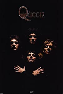 Queen Poster Movie 27x40 Freddie Mercury Brian May John Deacon