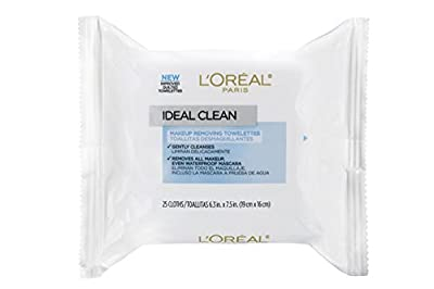 L'Oreal Paris Ideal Clean Making Removing Facial Towelettes, All Skin Types