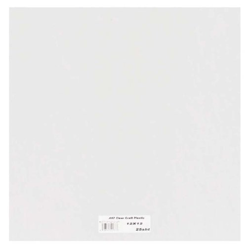 grafix-clear-craft-plastic-007-thickness-12-inch-by-12-inch-pack-of-25