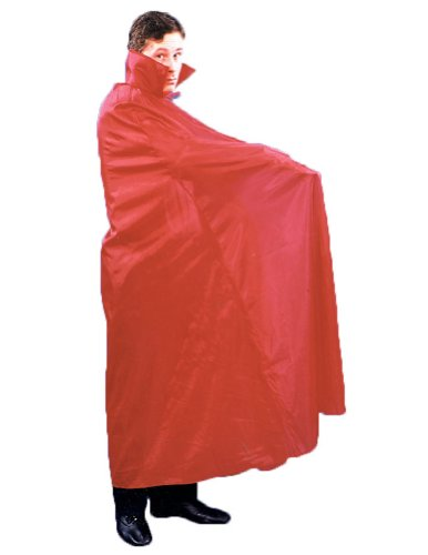 Cape Floor Length Red Halloween Costume