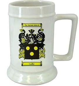 Laidler-Scottish Family Crest Stein / Laidler-Scottish Coat of Arms Stein