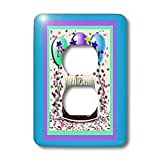 Beverly Turner Birthday Invitation Design Birthday Party Chocolate Cake 60th Light Switch Covers 2 plug outlet cover