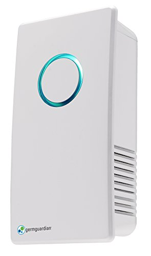 GermGuardian GG1100W Elite Pluggable UV Sanitizer and Odor Reducer, Crystal White