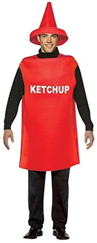 Ketchup Bottle Adult Costume