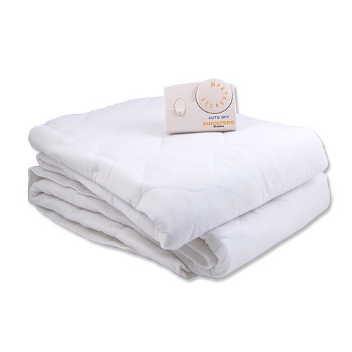 Heated Mattress Pad Biddeford Twin XL Quilted Electric