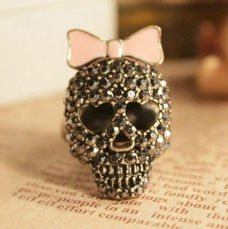 Cute Skull Ring Adjustable