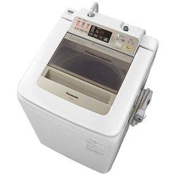パナソニック 8.0kg 全自動洗濯機 シャンパンPanasonic エコナビ 即効泡洗浄 NA-FA80H1-N