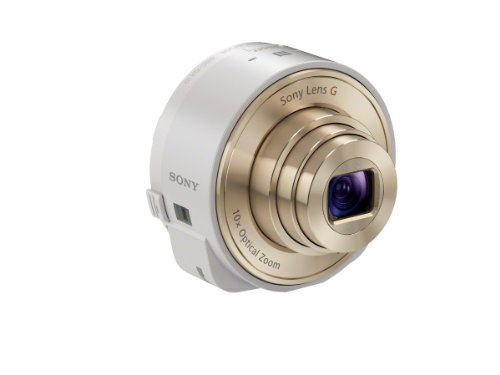 Sony Cyber-shot camera lens style DSC-QX10 (White)...