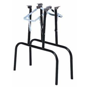 Waddell Manufacturing FTL100 Folding Banquet Table Legs, Black