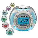 Timex T035WW4 Color Changing Alarm Clock with Soothing Sounds (White)