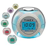 Timex T035W4 Color Changing Alarm Clo...