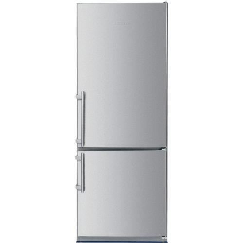 Liebherr 15.5 Cu. Ft. Freestanding Stainless Steel Counter Depth Bottom Freezer Refrigerator - CS1660