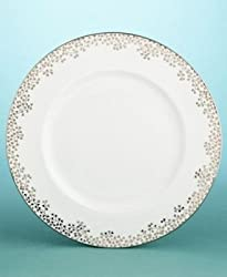 "Martha Stewart for Wedgewood Bouquet Silver 10.75"" Dinner Plate"