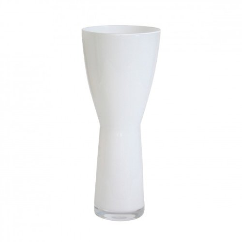 Vase Pascal ca. 40cm. weiss