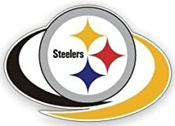 "Pittsburgh Steelers 12""x12"" Die-Cut Window Film"