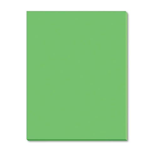 Pacon - Riverside Construction Paper, 76 lbs., 18 x 24, Green, 50 Sheets/Pack 103461 (DMi PK pm company expandable dark green transit sack 18w x 4d x 14h 04647 dmi ea