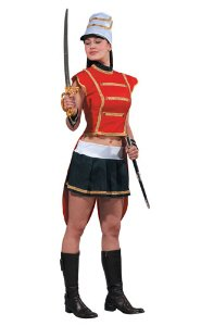 Sexy Toy Soldier Female Adult Halloween Costume Size Large