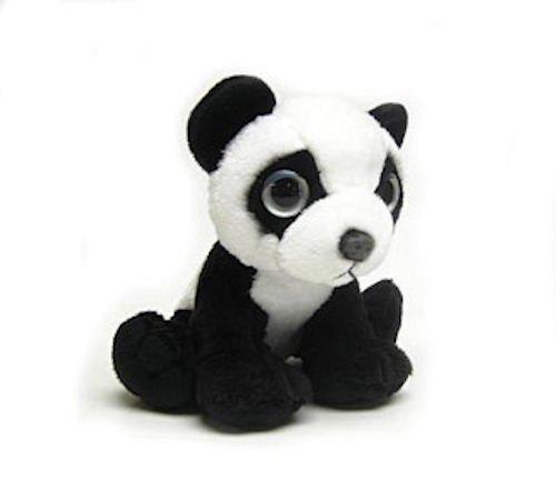 "Wishpets 6"" Sweet Eyes Panda Plush Toy - 1"