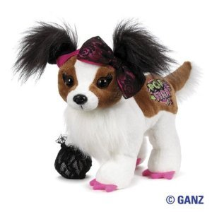 "Webkinz Rockerz Papillon 8.5"" Plush"