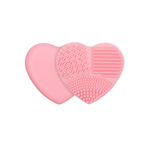docolor-makeup-brush-cleaner-heart-shaped-silicone-multi-texture-surface-cosmetic-cleaning-tools-pin