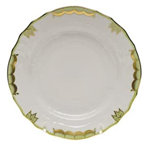 Herend Princess Victoria Green Dinner Plate-10.5""