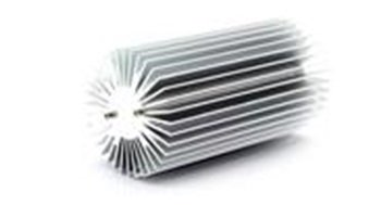 55*55*100Mm Aluminum Heatsink For 10W Led / With Screws