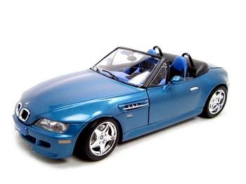 Buy BMW Z3 M ROADSTER BLUE 1:18 DIECAST MODEL