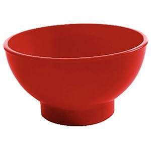 Sundae Dish Red polycarbonate. 170ml. Box quantity: 12.