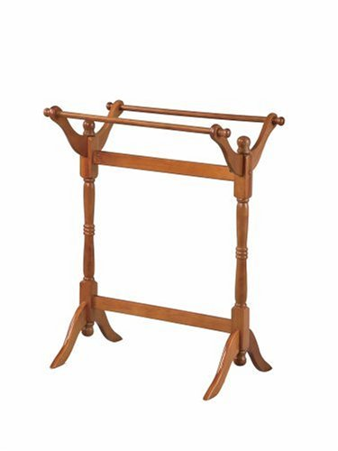 Review Powell Oak Blanket/Quilt Rack