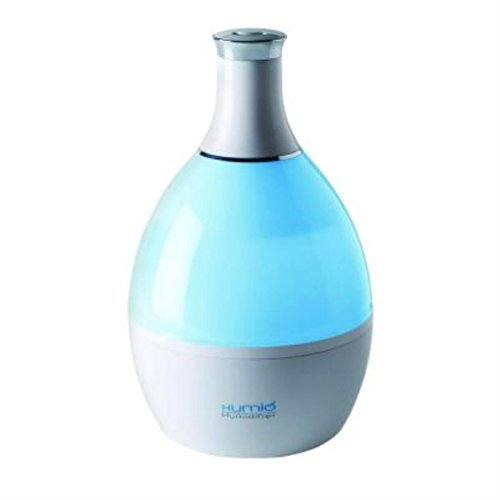 Tribest Humio HU-1020-B Ultrasonic Cool Mist Humidifier and Night Lamp with Aromatherapy Compartment, White