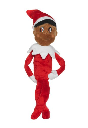 The Elf on the Shelf: Plushee Pals 19&quot; Elf Dark Skin