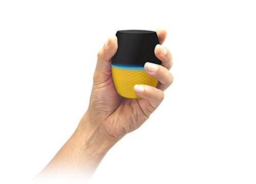 Latte RS217YLW SoundMagic  mini Color Changeable Portable Bluetooth Speaker with a Built-in Speaker (Yellow)