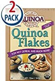 Ancient Harvest Organic Quinoa Flakes Gluten Free -- 12 oz Each / Pack of 2
