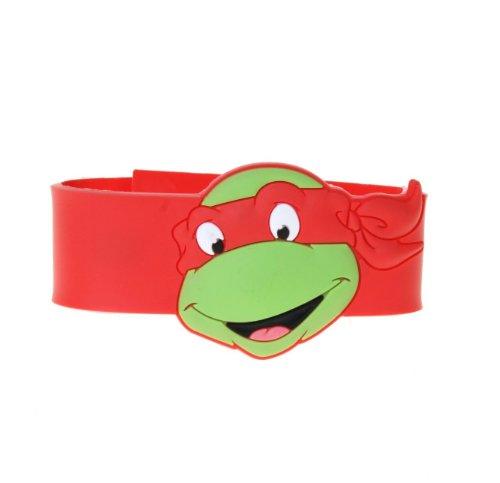 Teenage Mutant Ninja Turtles Raphael Rubber Snap Bracelet