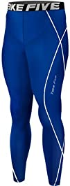 New 054 Skin Tights Compression Leggings Base Layer Blue