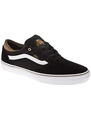 Buy Vans Gilbert Crockett Pro Mens Skate Shoe- Black Rubber by Vans