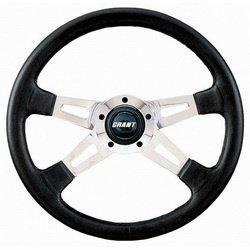 Grant Wheels 1150 14IN. POLISH ALUM/BLCK