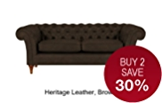 Portabella Medium Sofa - Leather