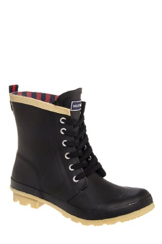 Renegade Lace-Up Rain Boot