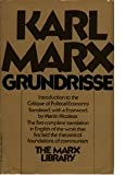 Image of Grundrisse: Foundations of the critique of political economy (The Marx library)