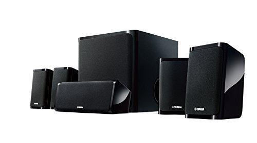 Yamaha NS-P40BL 5.1 Speaker Package (Black, Set of 6) (Sound Package compare prices)