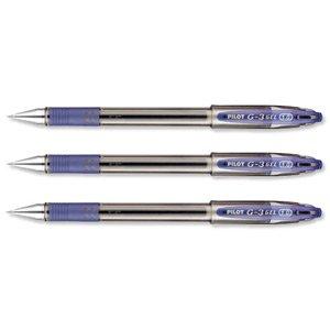 Pilot G310 - Lote de 12 bolígrafos recargables, color azul