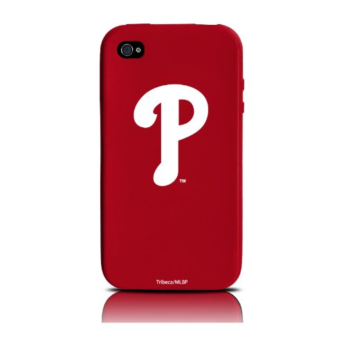 MLB Philadelphia Phillies iPhone 4 Cover Varsity Jacket Silicone at Amazon.com