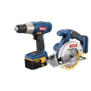Ryobi P807 Drill and Circular Saw Combo 18V ONE System