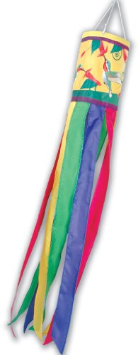 Premier Kites 78605 Brilliance Windsock, Hummingbirds, 6 by 40-Inch