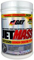 GAT JetMass Post-Workout Muscle Volumizer Tropical Ice -- 1.83 lbs (Quantity of 1)