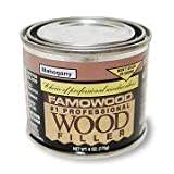 1/4 Pint Mahogany Wood Putty ~ FamoWood
